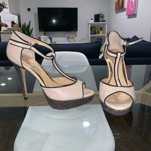 Jessica Simpson Platform Bansi Heels, size 10